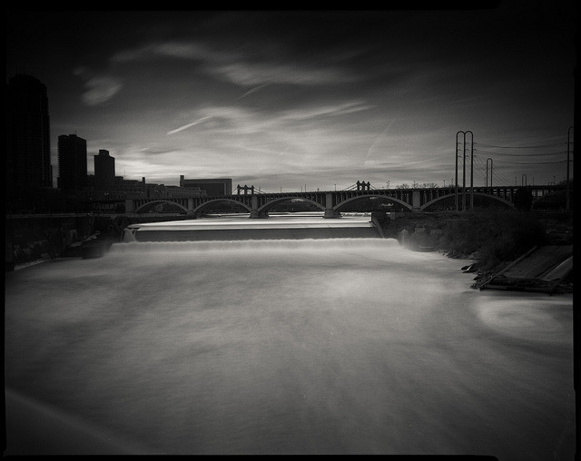St. Anthony Falls on Flickr.