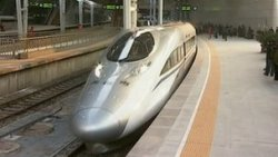 breakingnews:  China opens world's longest high-speed rail route BBC:   China has officially opened the world's longest high-speed rail route, linking the capital Beijing with the southern commercial hub of Guangzhou. The first bullet train left Beijing on Wednesday morning. Trains will initially travel at 187mph, more than halving travel time.