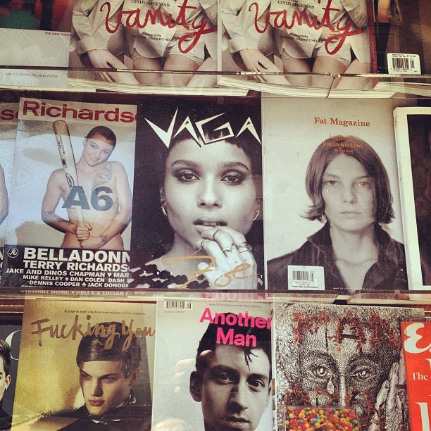 Check out @vaga_magazine on Bowery x Rivington! So happy to be a part of this issue! Check it out!