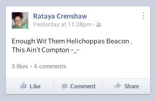 "Did she really say ""Helichoppas""?"