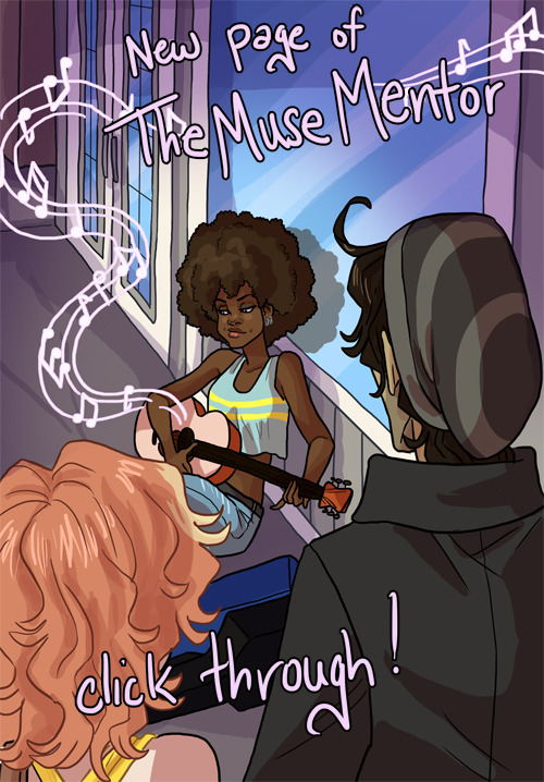 themusementor:  Today's page now comes with… well… an ACTUAL PAGE! Thank you, to those of you who let me know the page wasn't showing up for you. Everything should be fixed, now, but please feel free to contact me if it gives you any guff! I will set it straight.  I am totally reblogging this week, because Bea!