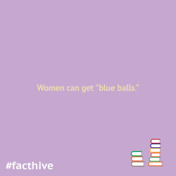 "Women can get ""blue balls."""