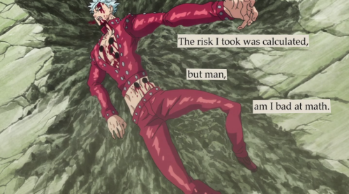 nanatsu no taizai seven deadly sins troubled birds meliodas ban king anime gowther dreyfus slader diane elizabeth