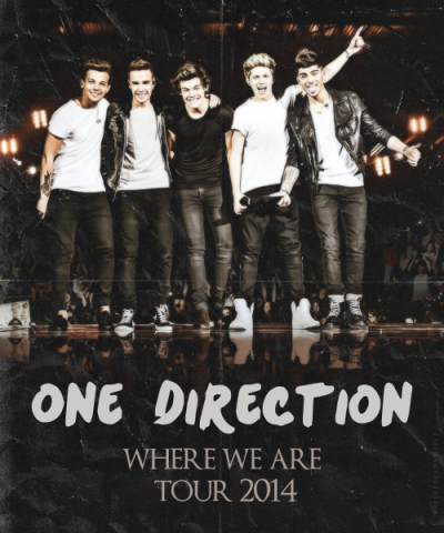 One Direction - Where We are - Stadium Tour 2014