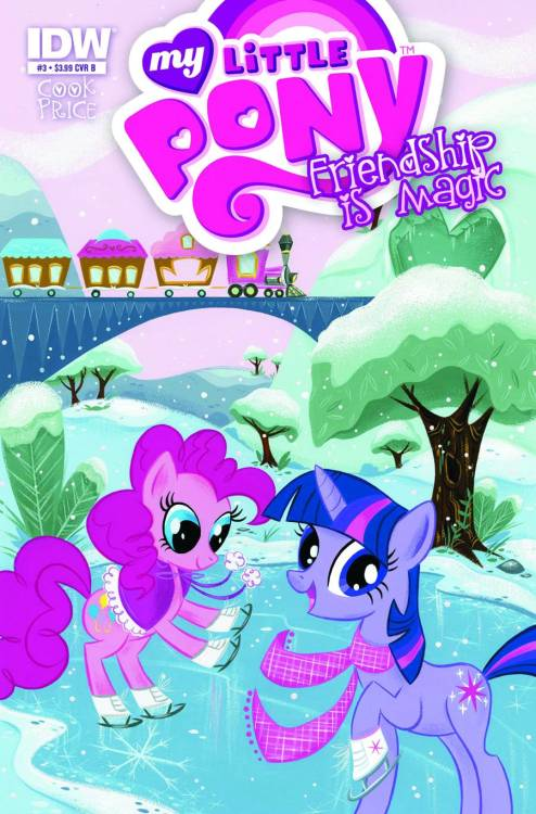 Market Monday My Little Pony: Friendship is Magic #3, written by Katie Cook, covers by Stephanie Buscema and Amy Mebberson  The Mane 6 enter the heart of the Changeling Kingdom to rescue their friends! Danger lurks everywhere, and each Pony will have to put their best hoof forward if they are to survive the night! Unfortunately that's exactly what the Changeling Queen expects! Will our heroes fall into her trap?