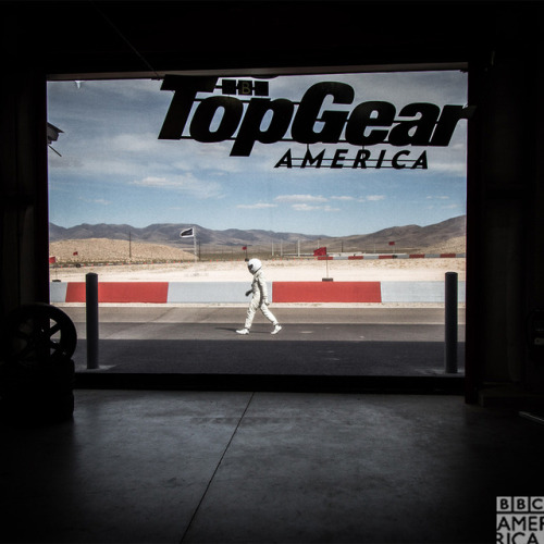 The Stig is racing home to set the DVR for Top Gea