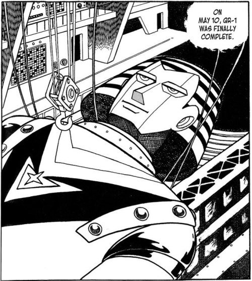 Giant Robo is smug.