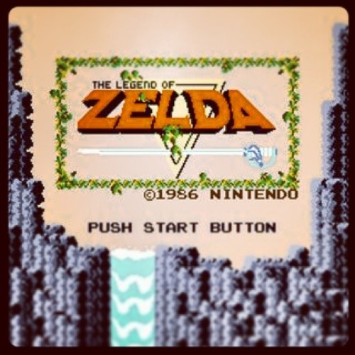#zelda #link #gameboy #nes#nintendo #pushstart #game #tumblr #triforce #vintage #tloz