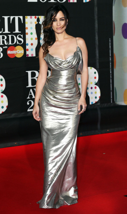 Bérénice Marlohe || Brit Awards at the 02 Arena in London on February 20, 2013