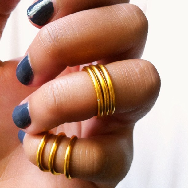 Buy One Three Tier Ring and get one Single Midi Ring for free!! www.etsy.com/shop/CheapAndChicThreads #midirings #wirerings