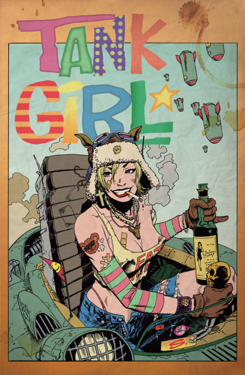 bitch-spit:  smokingtape:  Tank Girl Alec Fritz colors by ~stevescott  same.