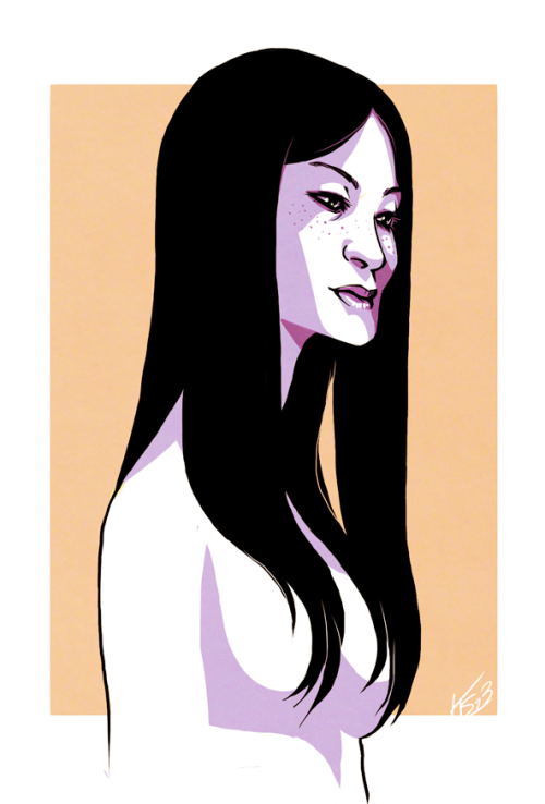 Lucy Liu or a generic Asian woman? Likenesses are hard. :(