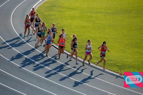 xc-girl:  I'm the one in second in the pink shorts.