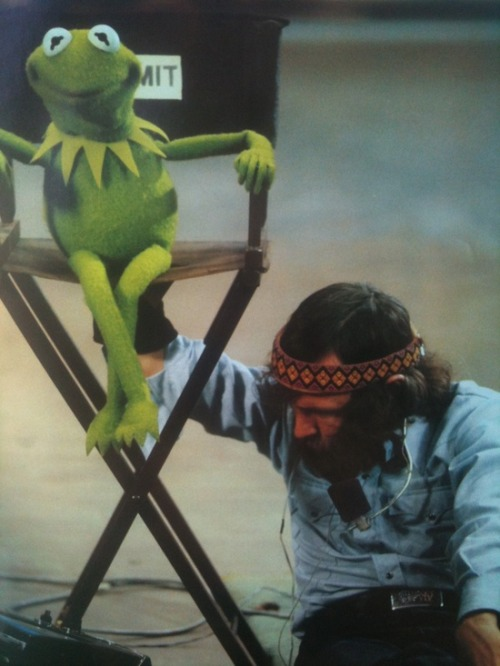 superseventies:  Jim Henson at work.