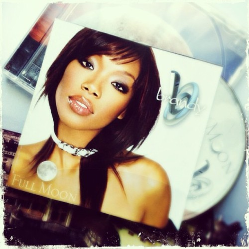 lovelimmy:  One of the most important/influential albums in my life. #brandy #fullmoon #music