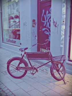 myselfanika:  Spotted! Bike with #style Copenhagen City Center