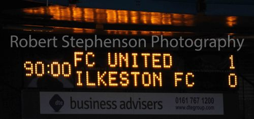 More Pictures from FC United vs Ilkeston