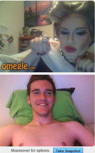 marceddy:  just talked to the cutest drag queen on omegle it was fun