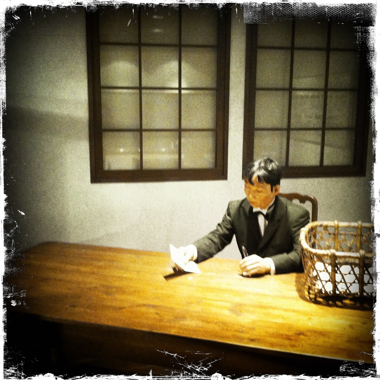 Meiji post office exhibit, Communication Museum, Tokyo
