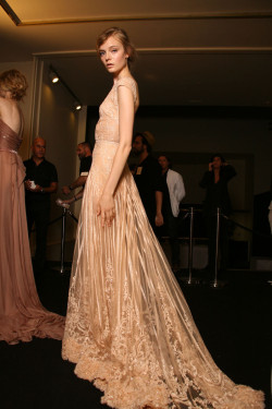 girlannachronism:  Elie Saab fall 2011 couture backstage