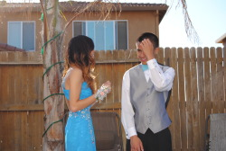 Ugh, so handsome in his suit. I cannot handle. Take me back to prom ):