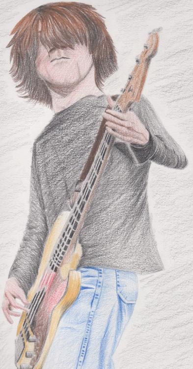 ben shepherd, done in colored pencil *note: i'm going to send this to ben himself as soon as i possibly can