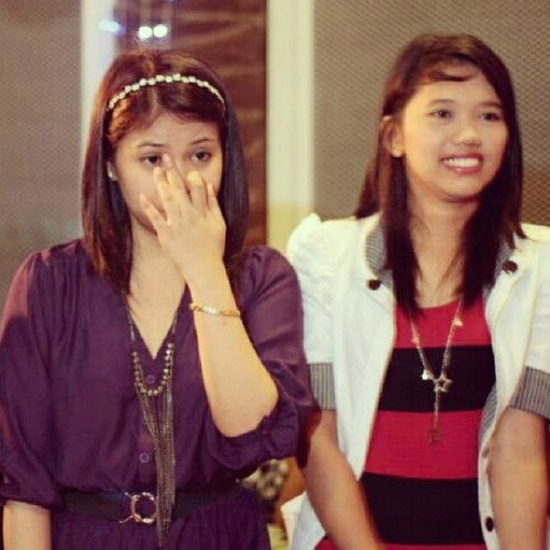 My girl bestfiend! Meet Nyck Flourence. :)) #girl #bestfriend #instagood