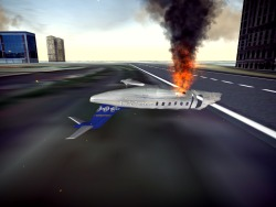 I downloaded a game for free called Flight Unlimited: Las Vegas today, which turned out to be so awful that I now try to get the biggest airspeed possible before crashing my plane into the ground. My highest is 1012mph. It claims to be a faithful recreation of Vegas, but the vans and buses are about 3 floors tall, and only a few of the landmarks are 3 dimensional. – View on Path.