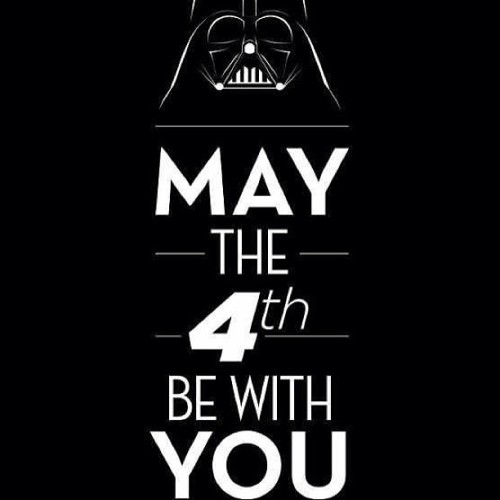 You already know #may4 #starwars #maythefourthbewithyou