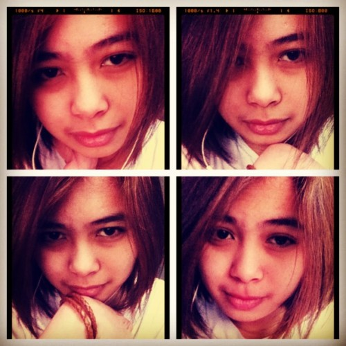 "muka pa rn ako bagong gising -___-"" #good #afternoon #vain #mode #bored #asian #filipina #tambay #picstitch"