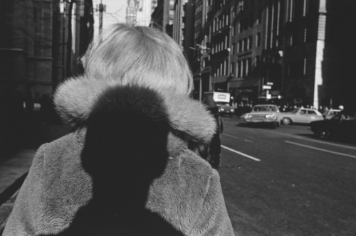 cavetocanvas:  Lee Friedlander, Self Portrait, 1966