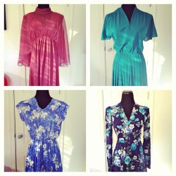#new #cute #vintage #dresses added to the shop! www.vintageworldrocks.etsy.com #etsy #etsyvintage #fashion