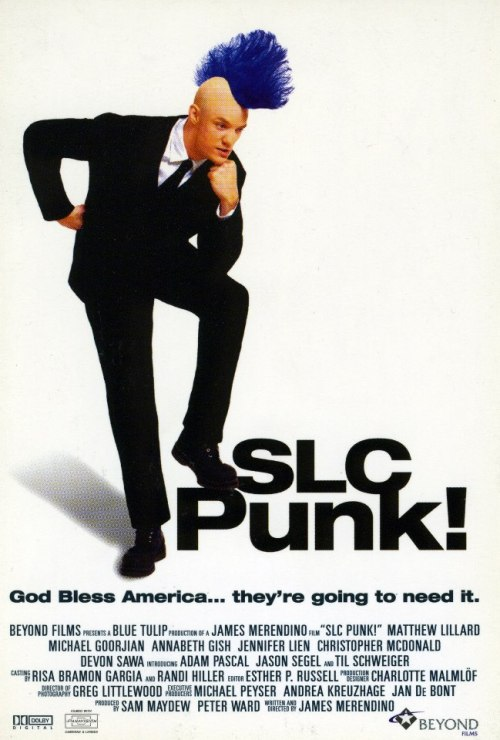 jasonfnsaint:  SLC Punk (1998) The Cannes Film Festival Poster