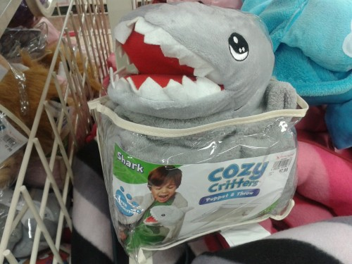 A Shark meemee blankent?  Pleasant dreams children.