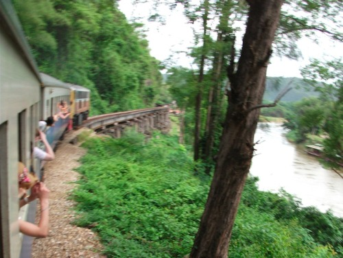 Dark Tourism: Bridge on the River Kwai, Thailand.  Full report on The Bohemian Blog.  #darktourism #photography