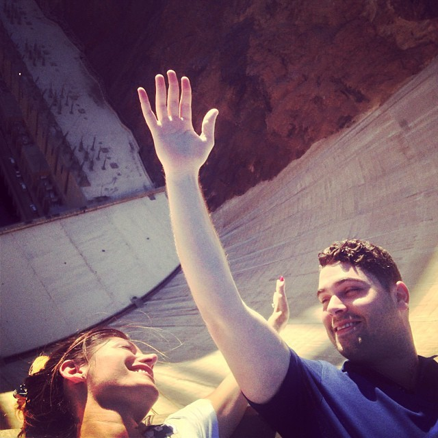 Effin around at the #HooverDam #LasVegas #Arizona