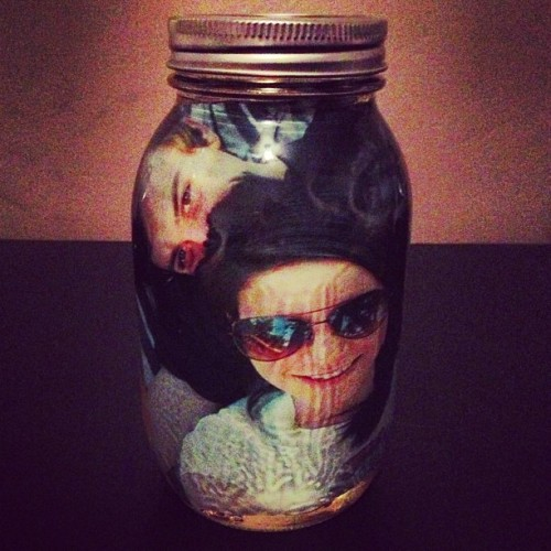 @tonishyann gave me a jar full of us for Valentine's Day 😊