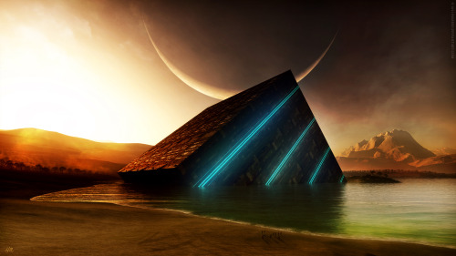 justbecalm:   The Cube by `Hameed on deviantART)