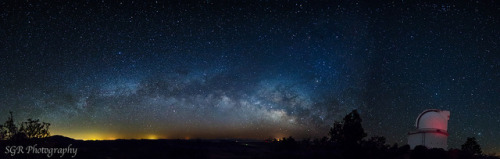 heythereuniverse:  Harlan J. Smith Milkyway Panorama | ZERO CEM