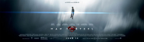 "Superman Takes Flight In New ""Man of Steel"" Banner The promotional team over at Warner Bros. really must have taken notice of the success of Iron Man 3 lately, having really sprung into action over the last week. Following up from the two new TV spots, banner and poster is another banner for Zack Snyder's Man of Steel, and once again the elegance of this image is in its simplicity. Man of Steel opens June 14. [CinemaBlend] —— Featured:  Top 5 TV Asian Girl Crushes Friend Us: Facebook and Twitter"