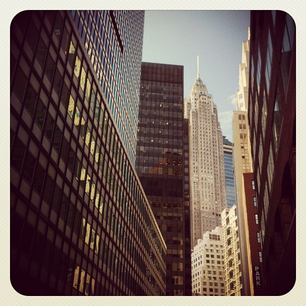 lucevirtuale:  Financial District, NYC