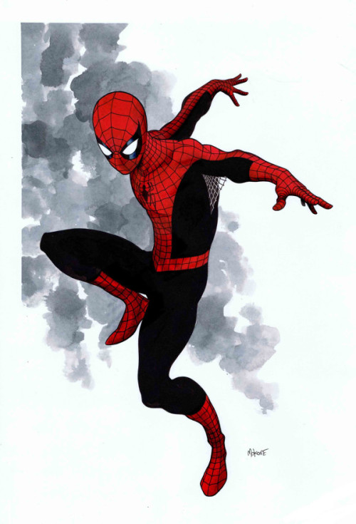 xombiedirge:  Spider-Man by Mike McKone