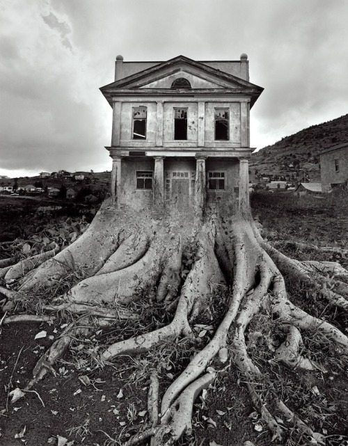 photographer Jerry Uelsmann has been manipulating photos long before Photoshop transformed the world of photography