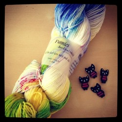 Today's haul from Seed Stitch! #knitting  (at Seed Stitch)