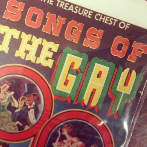 #songs of the #gay #antique #vintage