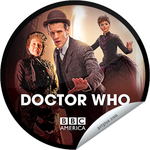 I just unlocked the Doctor Who: The Crimson Horror sticker on GetGlue                      10633 others have also unlocked the Doctor Who: The Crimson Horror sticker on GetGlue.com                  You're watching the premiere of Doctor Who: The Crimson Horror, presented by Supernatural Saturday, only on BBC America. Tonight, There's something very odd about Mrs. Gillyflower's Sweetville mill, with its perfectly clean streets and beautiful people. There's something even stranger about the bodies washing up in the river, all bright red and waxy.  When the Doctor and Clara go missing, it's up to Vastra, Jenny and Strax to rescue them before they too fall victim to the Crimson Horror!  Share this one proudly. It's from our friends at BBC America.
