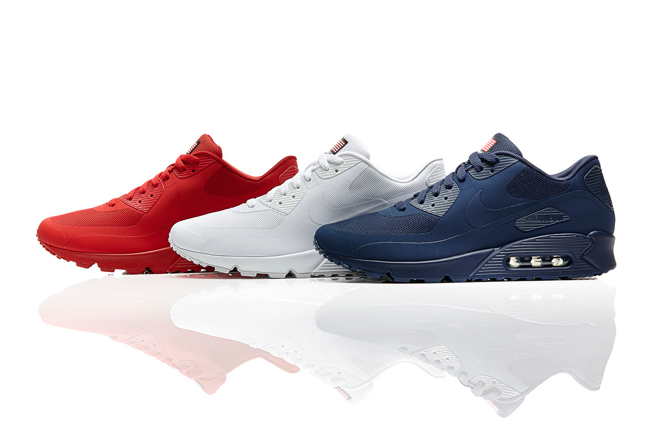 air max 90 independence day red for sale