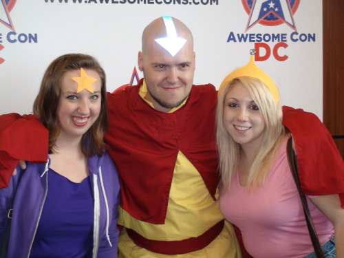 So AwesomeCon was today here in DC, and Cosplaying is always fun. I picked up some pretty rad stuff too. Here's a photoset of me and friends just being ridiculous with cool cosplayers.