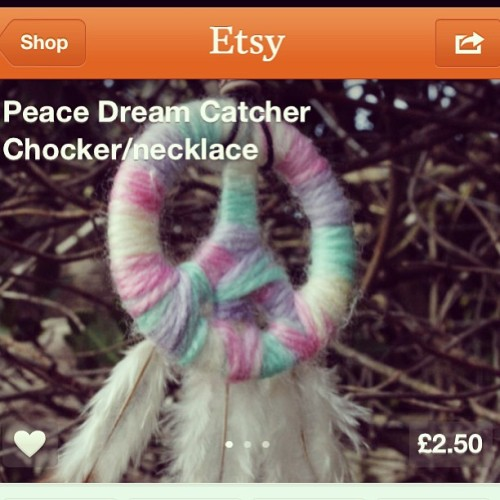 STILL AVAILABLE, LINK ON PROFILE #pretty #pink #pastelcolours #peace #peacesymbol #feathers #girly #forsale #fashion #etsy #handmade #crafts #creative #cute #dreamcatcher #instahub #instamood #photooftheday