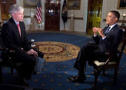 President Obama appeared on Meet the Press to sell his fiscal cliff solution and himself as the only rational man in Washington DC. VIDEO HERE.